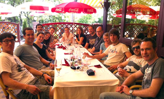 Group Lunch 2012